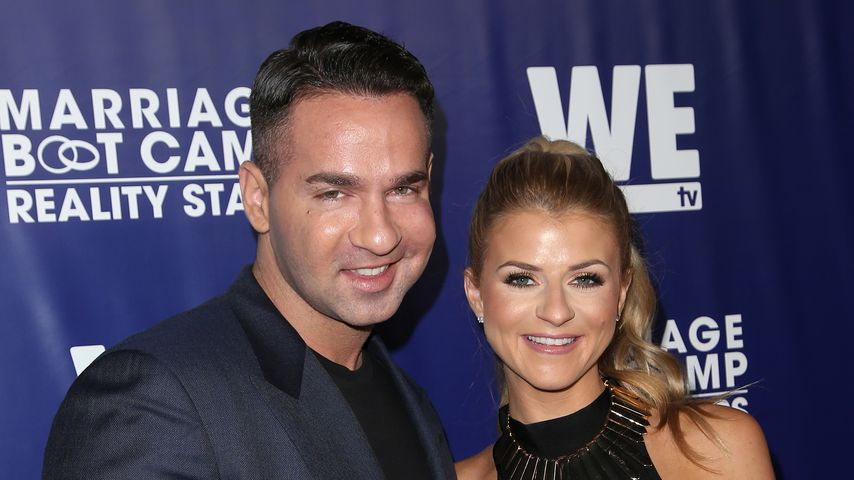 Mike Sorrentino und Lauren Pesce