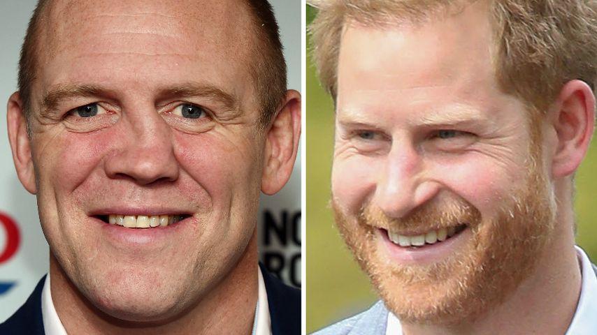 Mike Tindall weiß: Prinz Harry wird auch Windeln wechseln!