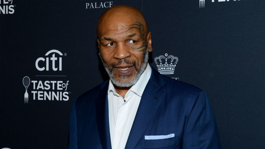 Mike Tyson in New York, 2019