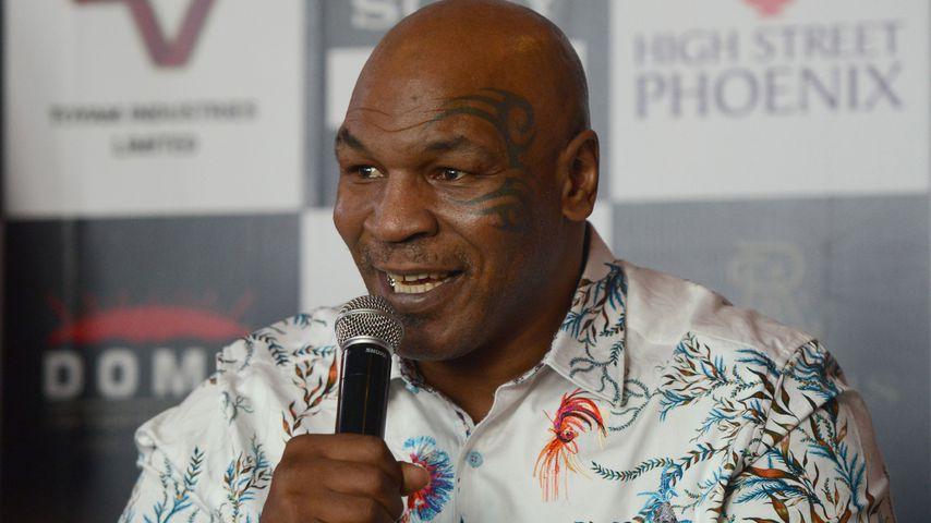 Mike Tyson im Jahr 2018