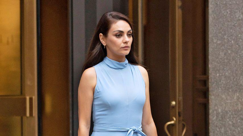 """Mila Kunis am Set von """"Luckiest Girl Alive"""" in New York"""
