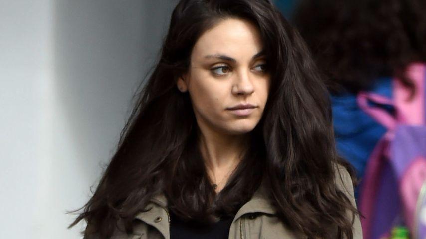 Mila Kunis: Hochschwanger und total genervt!