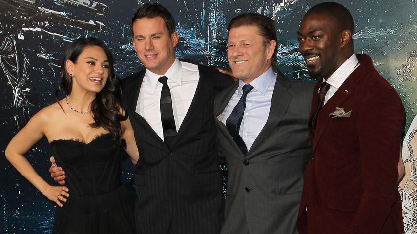 Mila Kunis, Channing Tatum und Sean Bean