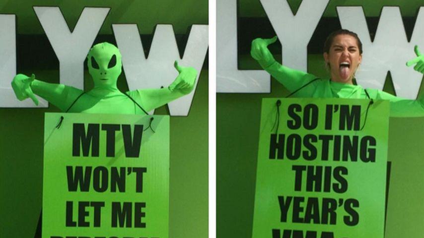 Show-Knaller! Miley Cyrus moderiert die MTV VMAs
