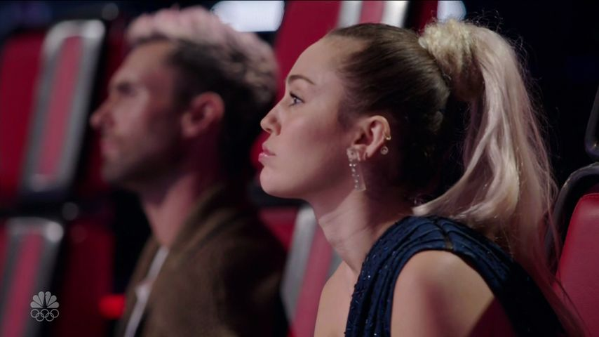 "Miley Cyrus bei ""The Voice"""