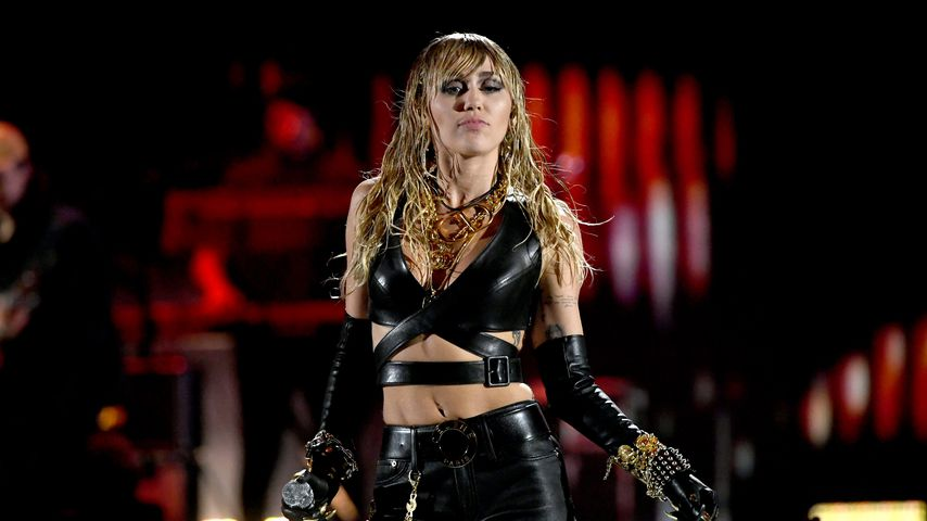 Miley Cyrus beim iHeartRadio Music Festival