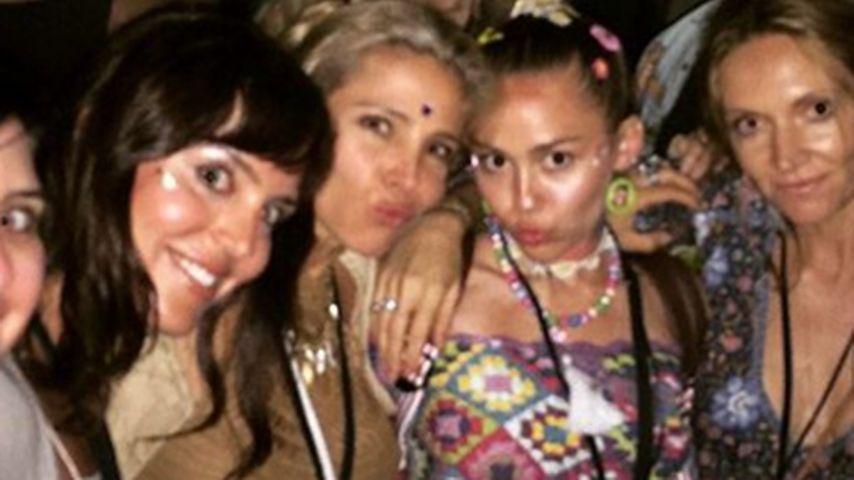 Miley Cyrus und Elsa Pataky