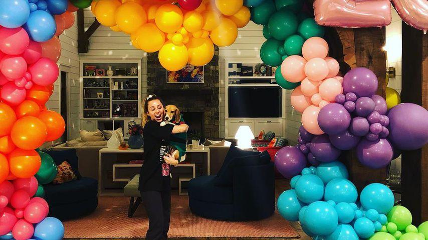 Miley Cyrus an ihrem 26. Geburtstag