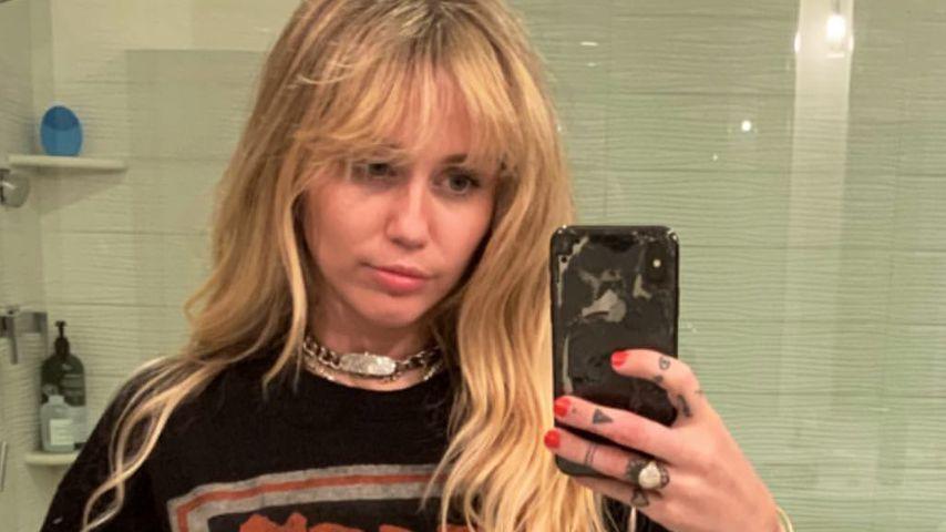 Miley Cyrus im Look von Hannah Montana