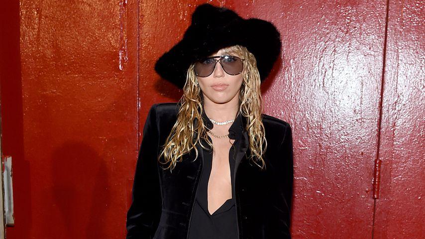 Mega-sexy: So lässig rockt Miley Cyrus die Fashion Week