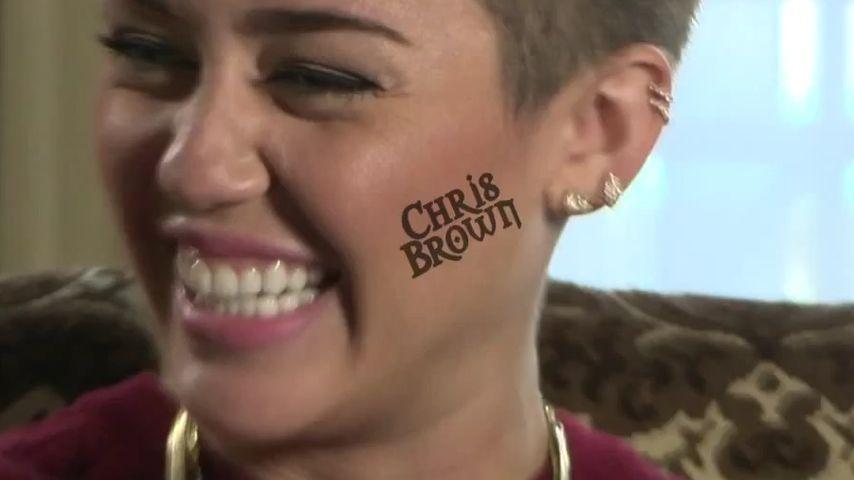 Wirklich? Miley Cyrus will ein Gesichts-Tattoo!