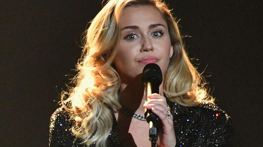 Miley Cyrus in der Radio City Music Hall in NYC im Januar 2018
