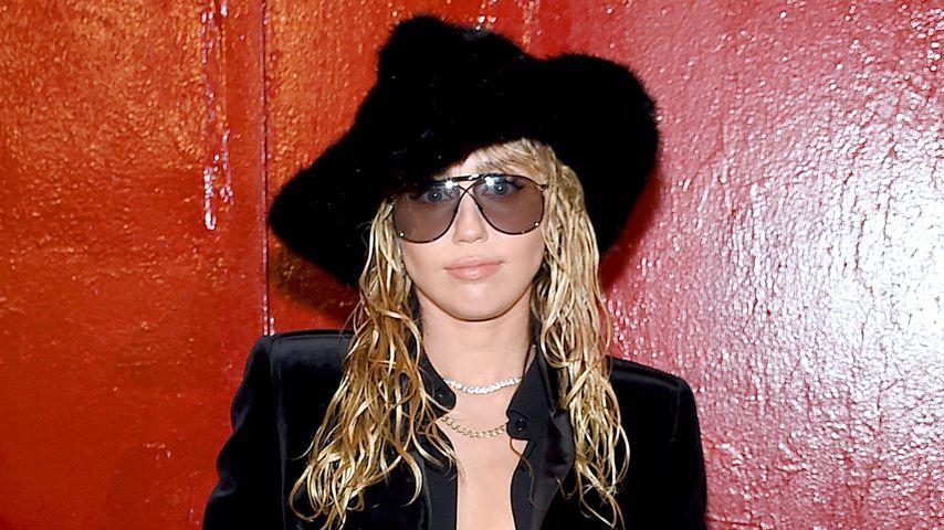 Miley Cyrus auf der New Yorker Fashion Week in NYC im September 2019