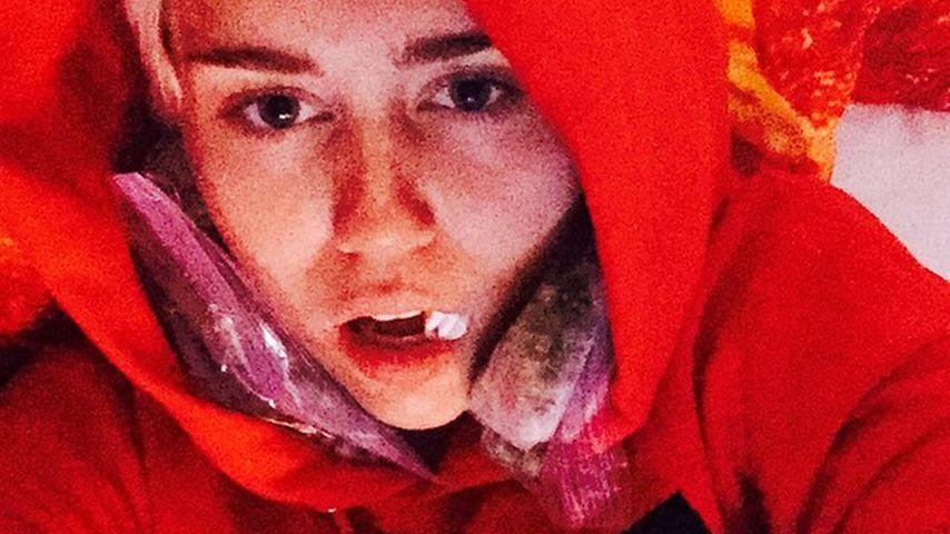 Eklig? Das passierte mit Miley Cyrus' Weisheitszahn!