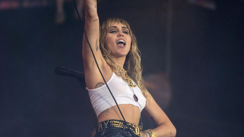 Miley Cyrus beim Glastonbury Festival 2019