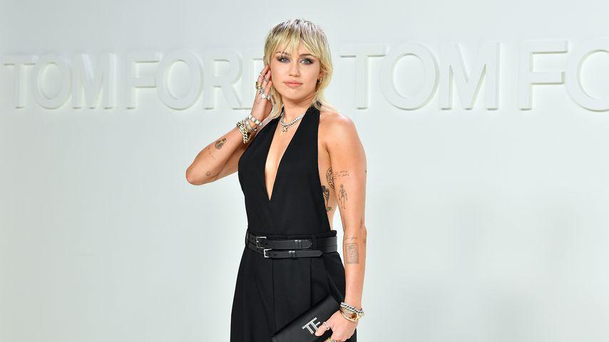Miley Cyrus bei der Fashionshow von Tom Ford im Februar 2020