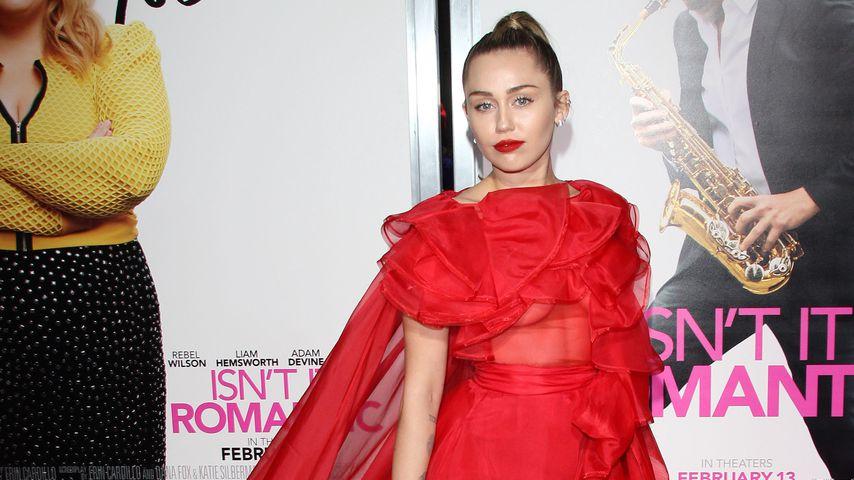 "Miley Cyrus bei der ""Isn't It Romantic""-Premiere, 2019"