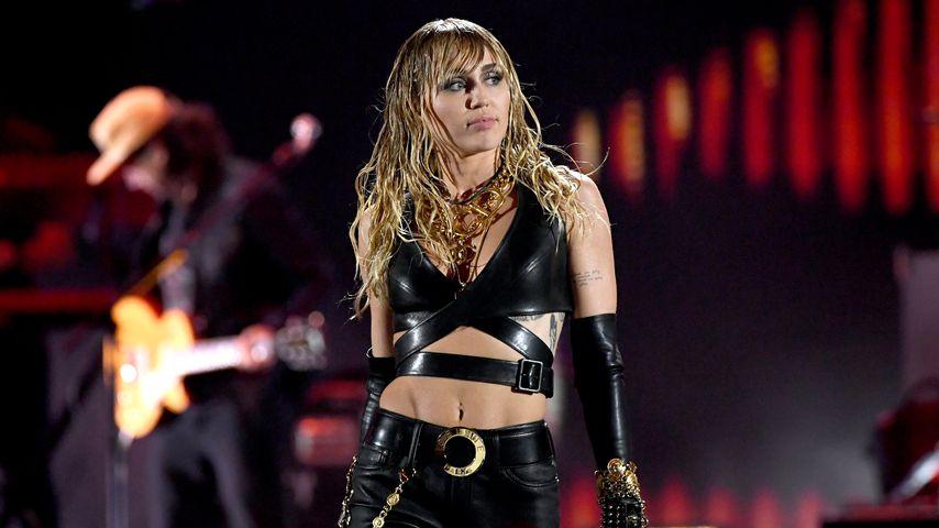 Miley Cyrus beim iHeartRadio Music Festival im September 2019