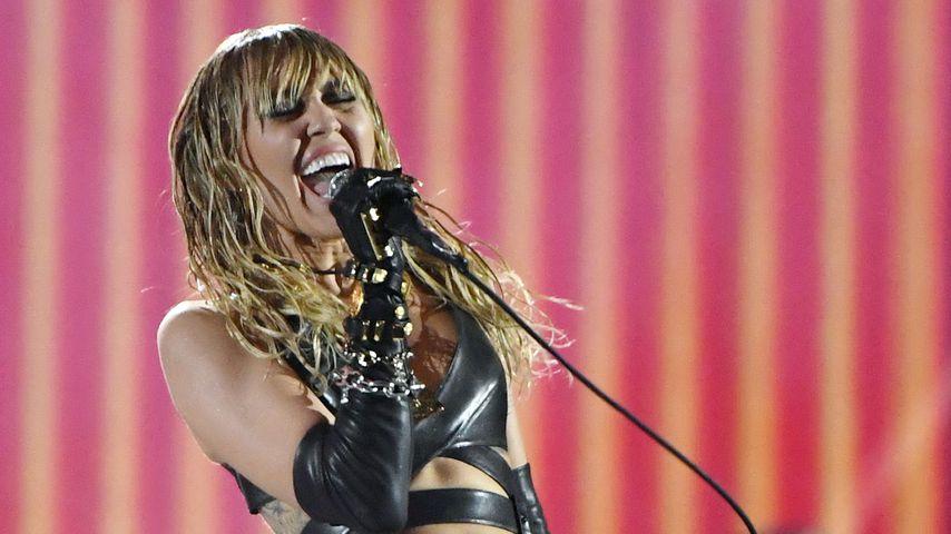 Miley Cyrus bei dem iHeartRadio Music Festival in Las Vegas