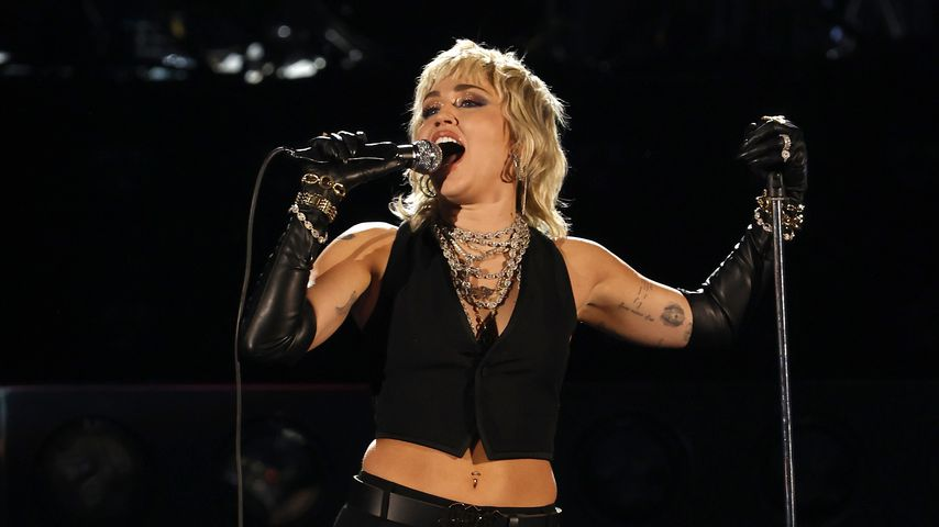 Miley Cyrus im April 2021