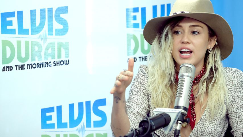 "Miley Cyrus bei der ""The Elvis Duran Z100 Morning Show"" in New York"