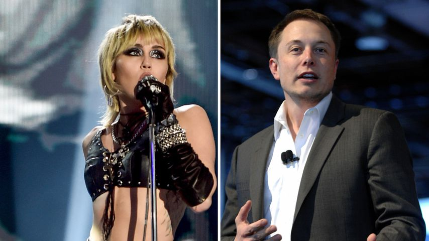 Miley Cyrus bekommt Shitstorm für TV-Auftritt mit Elon Musk