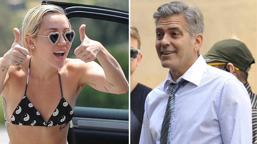 Miley Cyrus: George Clooney ist ihr größter Fan