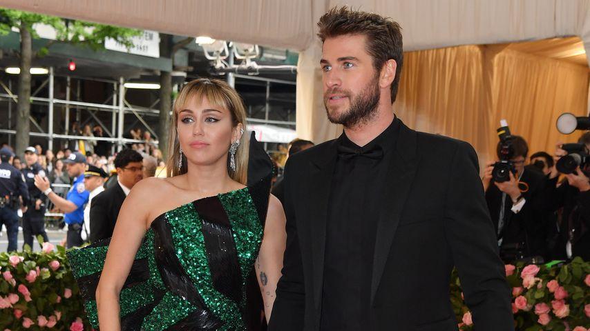 Miley Cyrus und Liam Hemsworth 2019 in New York