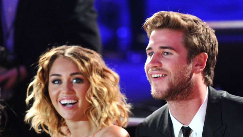 Miley Cyrus und Liam Hemsworth bei Muhammad Ali's Celebrity Fight Night