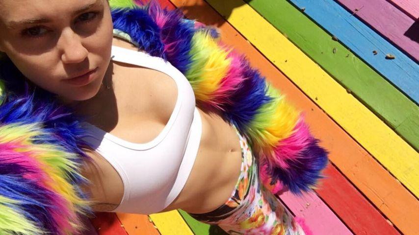 """Pansexuelle Miley Cyrus: """"Ich hasse das Wort bisexuell"""""""