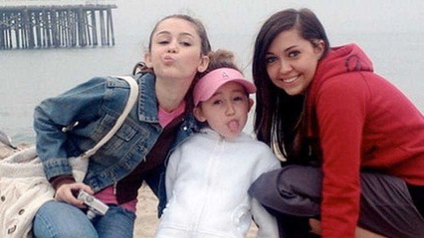 Die Schwestern Miley, Noah und Brandi Cyrus