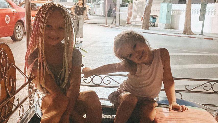 Miley und Juna in Bangkok