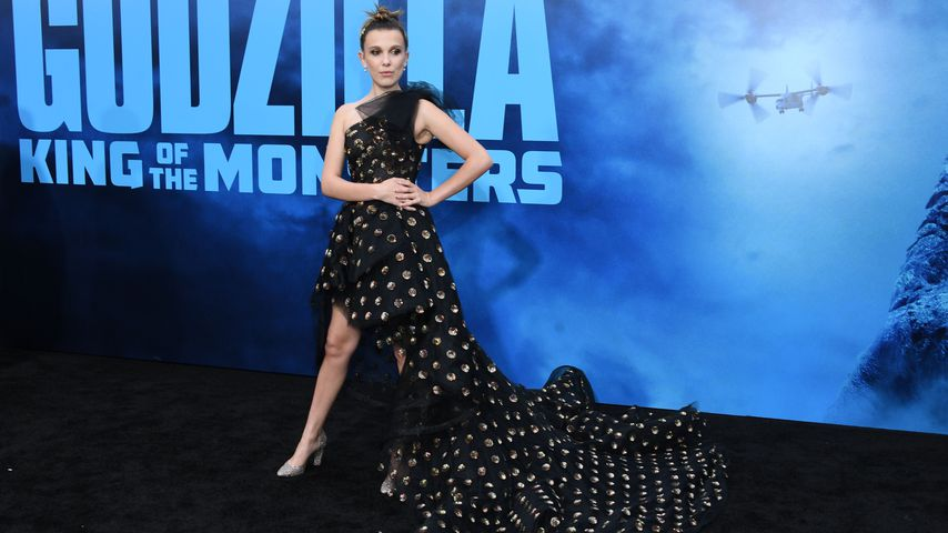 "Millie Bobby Brown bei der Premiere von ""Godzilla: King of the Monsters"" in Hollywood"