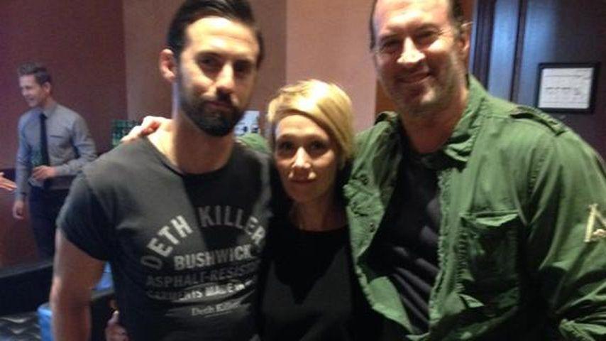Milo Ventimiglia, Liza Weil und Scott Patterson