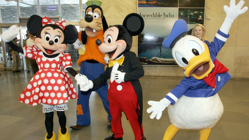 Minnie Maus, Goofy, Mickey Maus und Donald Duck