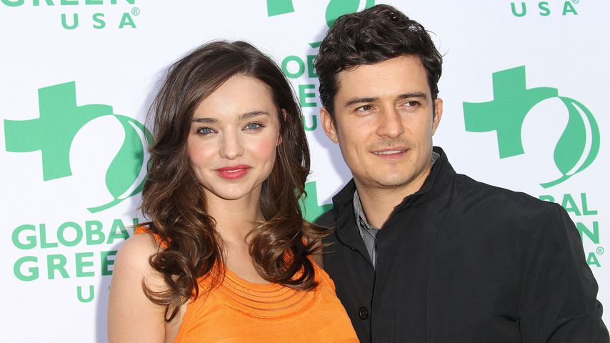 Miranda Kerr und Orlando Bloom 2011 in Santa Monica