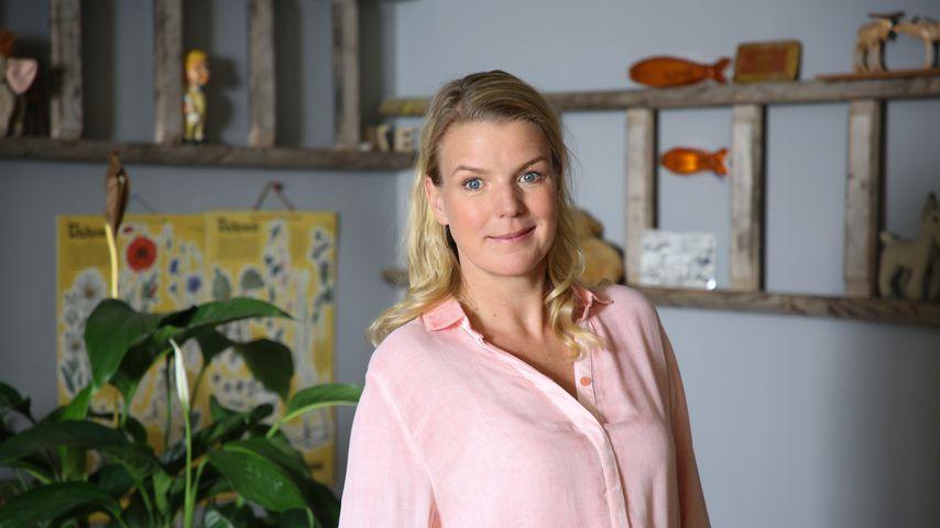 """Mirja Boes am Set der Serie """"Beste Schwestern"""""""