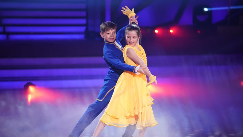 """Mischa und Zoé bei """"Let's Dance – Kids"""""""