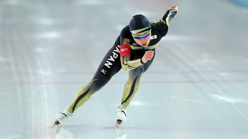 Miyako Sumiyoshi bei den Olympischen Winterspielen 2014