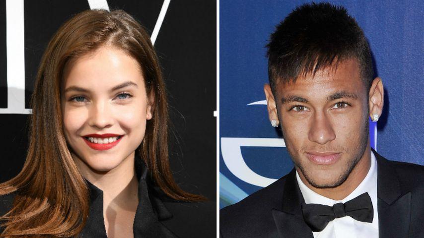 Heißer Flirt? Victoria's Secret-Model verlässt Neymars Bude!