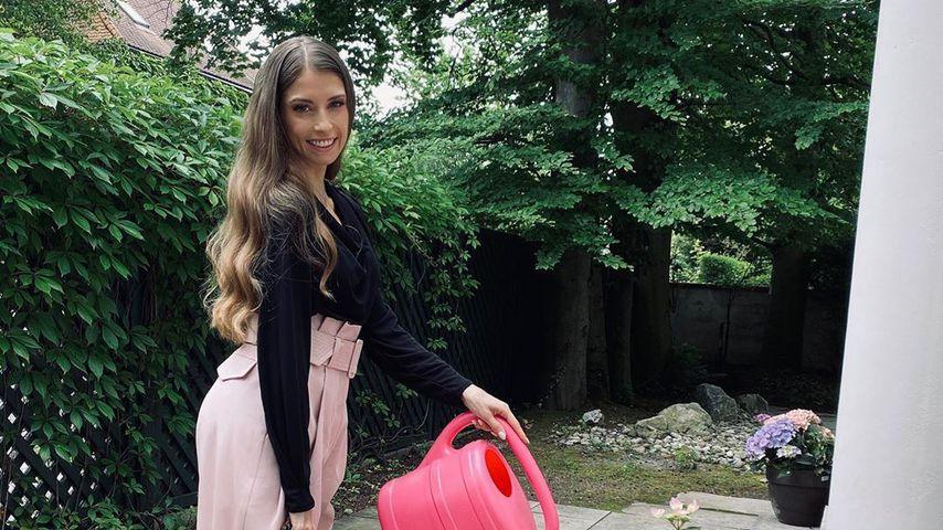 Model Cathy Hummels im Juni 2020