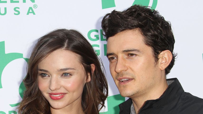 Model Miranda Kerr und Orlando Bloom in Santa Monica 2011