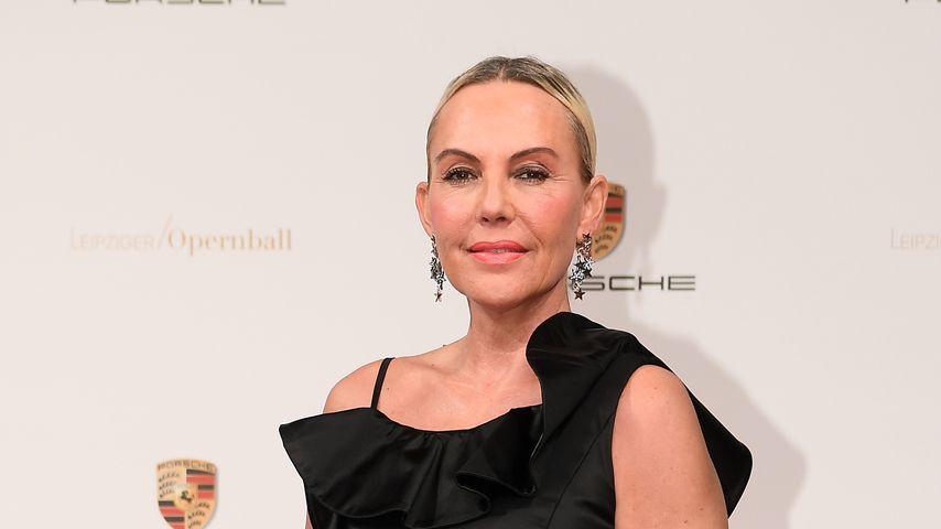 Model Natascha Ochsenknecht beim Leipziger Opernball