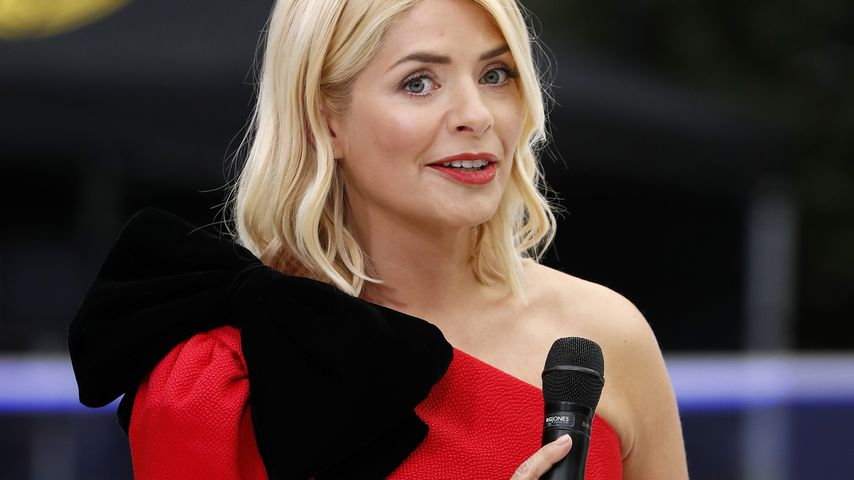 """Moderatorin Holly Willoughby beim Photocall für """"Dancing on Ice"""""""