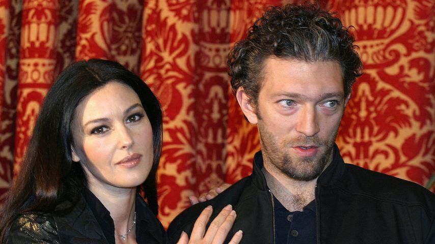 Monica Belucci und Vincent Cassel im Jahr 2004