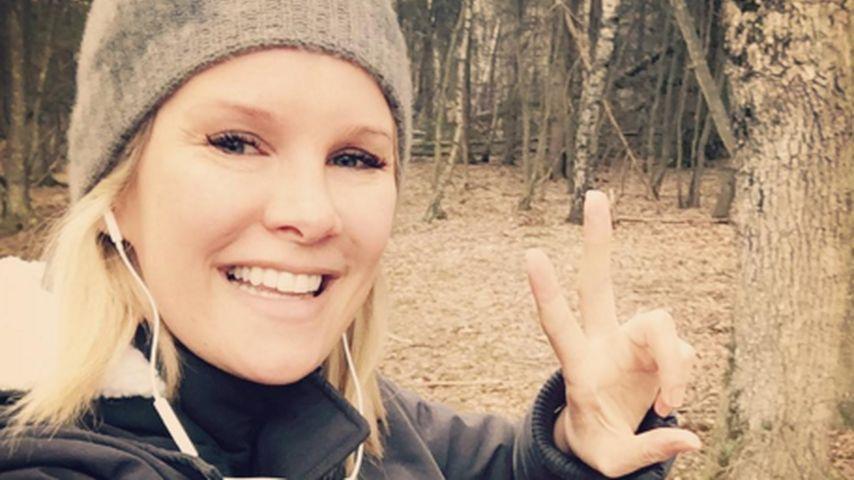 Schwanger-Walk: Monica Ivancan ist einfach nicht zu stoppen