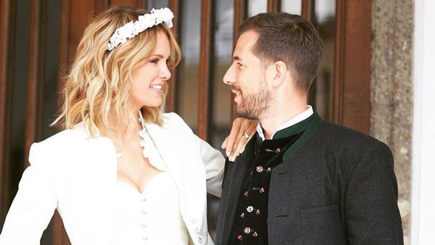 1. Hochzeitstag: Monica Ivancan postet süße Liebesbotschaft