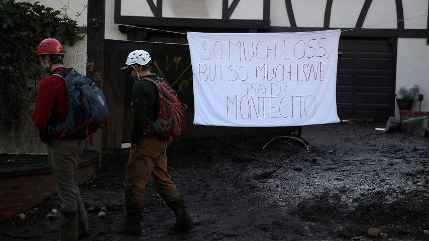 Montecito nach der Schlammlawine