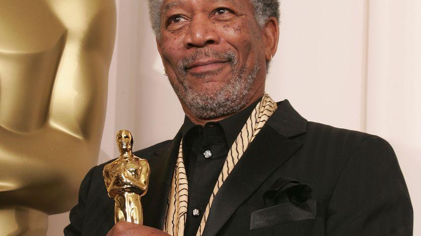 Morgan Freeman bei der Oscarverleihung 2005