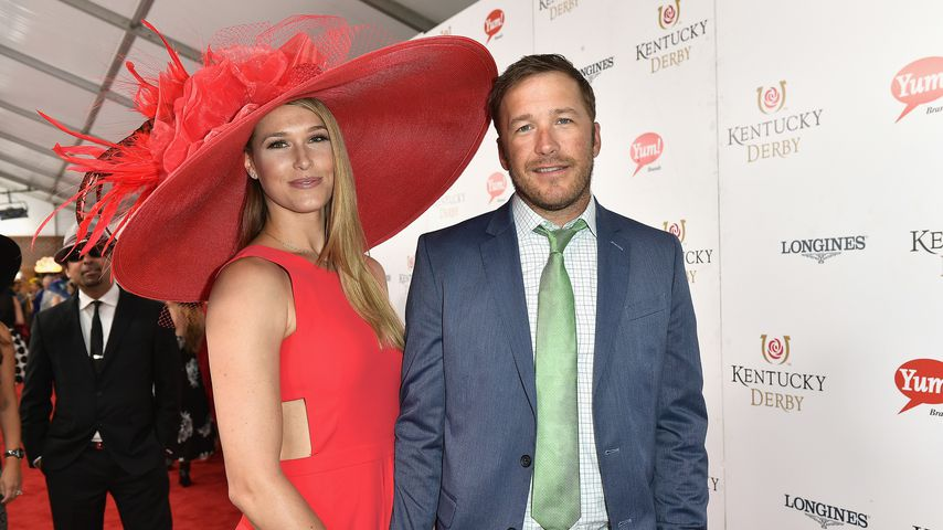Morgan und Bode Miller im Mai 2017 in Kentucky